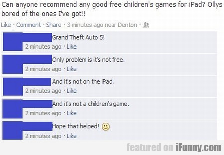 Can Anyone Recommend Any Good Free Children's