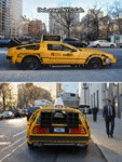 Delorean Nyc Cab