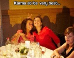 Karma At Its Very Best...