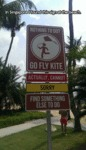 In Singapore I Found This Sign At The Beach...