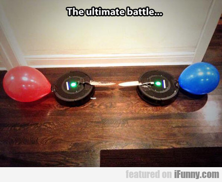 the ultimate battle...