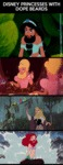 Disney Princesses With Dope Beards...
