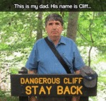 This Is My Dad. His Name Is Cliff...