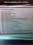 How To Properly Cook A Turkey...