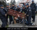 Don't Let Her Steal The Bench...