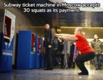 Subway Ticket Machine In Moscow...