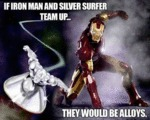 If Iron Man And Silver Surfer Team Up...