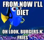 From Now I'll Diet...