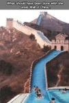What Should Have Been Done With The Great Wall...