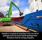 Sweden Is So Good At Recycling...