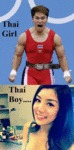 Thai Girl Vs Thai Boy...