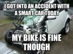 I Got Into An Accident With A Smart Car...