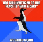 Hot Girl Invites Me To Her Place To Bake A Cake...