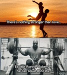 There's Nothing Stronger Than Love, Except...