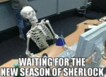 Waiting For The New Season Of Sherlock...