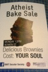 Atheist Bake Sale...
