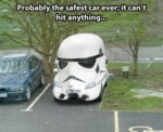 Probably The Safest Car Ever, It Can't Hit...