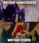 Wet Hair Expectations...