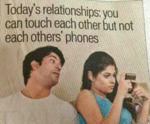 Today's Relationships: You Can Touch Each Other...