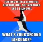 Flirting With A Beautiful Hispanic Girl...
