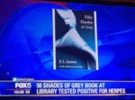50 Shades Of Grey At Library Tested Positive...