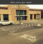 What Every Gym Needs...