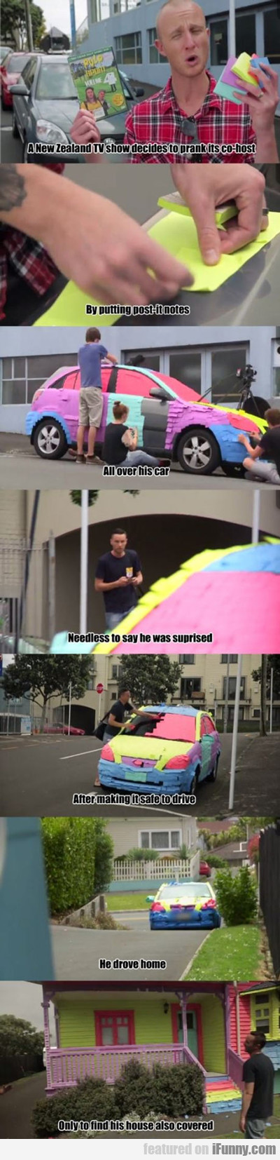 A New Zealand Tv Show Decides To Prank Its...