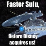 Faster Sulu Before Disney