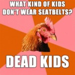 What Kind Of Kids Don't Wear Seatbelts?