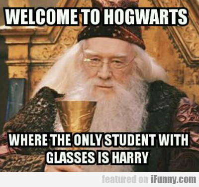 welcome to hogwarts...