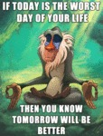 If Today Is The Worst Day Of Your Life...
