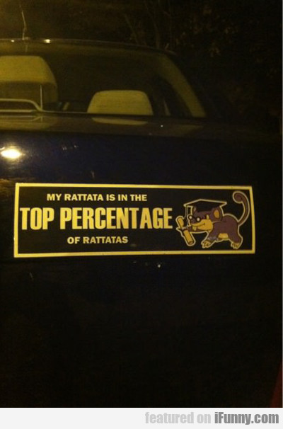 My Rattata Is In The Top Percentage Of Rattatas