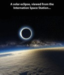 A Solar Eclipse, Viewed From The International...