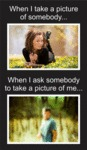 When I Take A Picture Of Somebody...