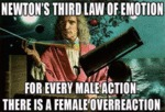 Newton's Third Law Of Emotion...