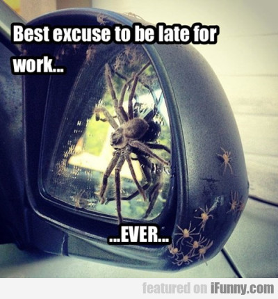 Best Excuse To Be Late For Work