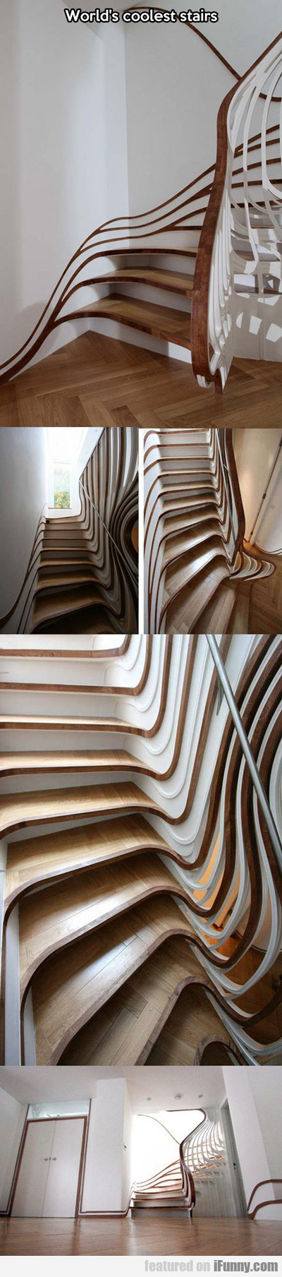 World's Coolest Stairs...