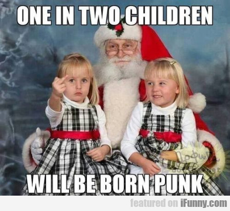 one in two children