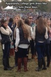 Apparently College Girls Dress Like Han Solo...