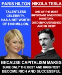 Paris Hilton Vs Nikola Tesla...