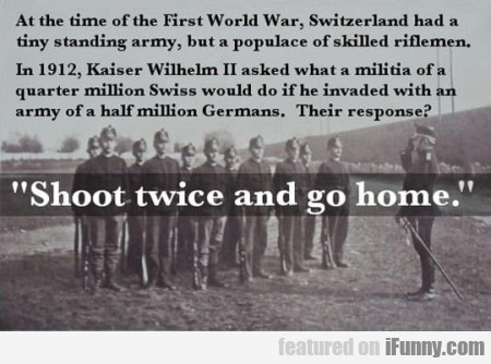 At The Time Of The First World War