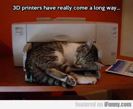 3D printers have really come a long way