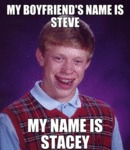 My Boyfriend's Name Is Steve...