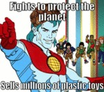 Fights To Protect The Planet...