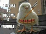 I Refuse To Be A Nugget