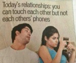 Today's Relationships: You Can Touch