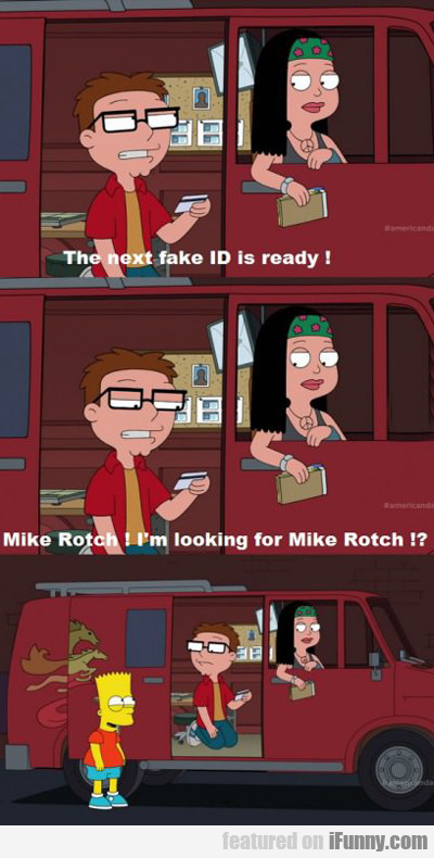 the next fake id is ready...