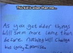 This Kid Is Wiser Than Me...