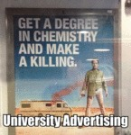 Get A Degree In Chemistry And Make A Killing...