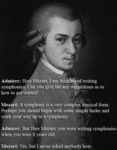 Herr Mozart, I Am Thinking Of Writing Symphonies..